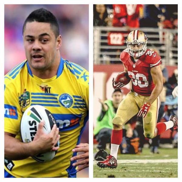 Rugby League Rules Nfl: Jarryd Hayne Rugby Super Star With The 49ers