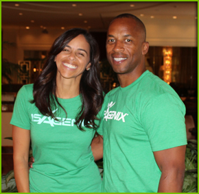 JJ and Raina Birden Isagenix Associates in Arizona