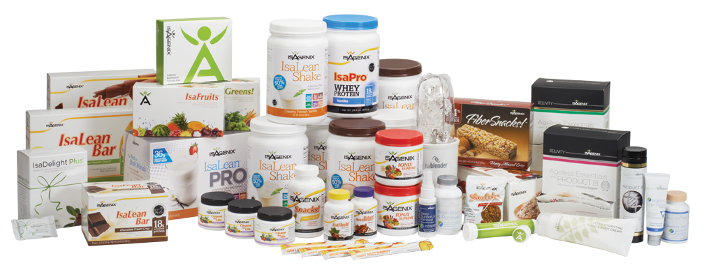 JJ Birden Isagenix business-builder-pak