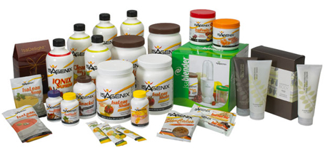 JJ Birden Isagenix Products